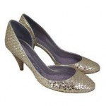 worthy splurge: anya hindmarch woven silver pumps