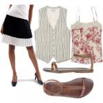 cheap thrills: summer skirt