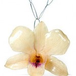 what i want today:  orchid necklace from signe ensign