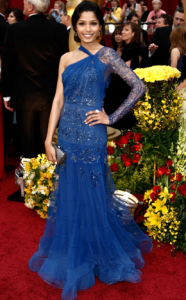 freida pinto 186x300 the good, the bad and the fugly:  oscar fashion 2009