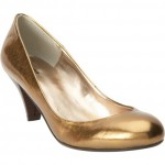 sweet steals:  metallic pumps