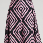 signs of spring:  tory burch jan skirt