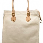 "spring canvas totes…apparently a ""must have"""
