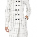 cheap thrills: windowpane trench from…target!
