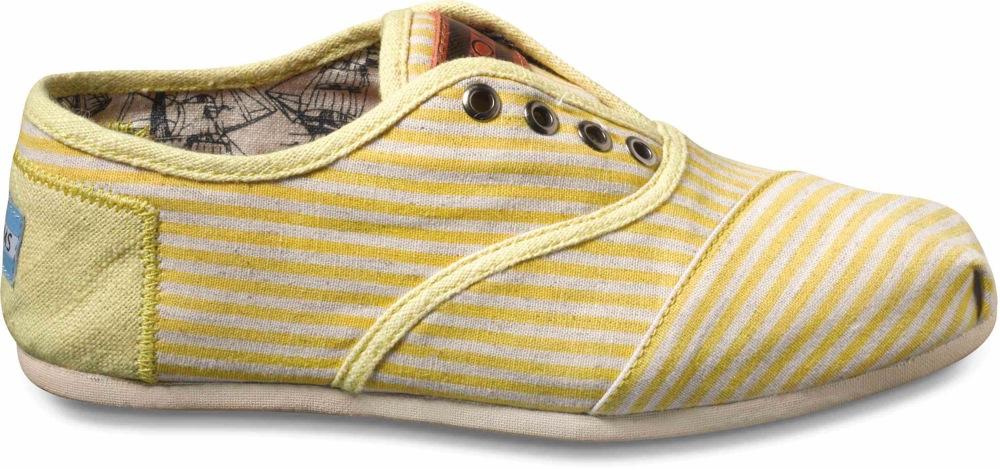 TOMS Yellow Newport Cordones