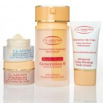 this just in: clarins on gilt groupe today!