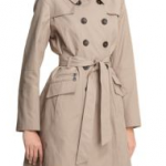 cheap thrill: dkny abby trench on super sale