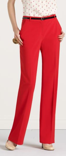Picture 15 cheap thrill: red trousers