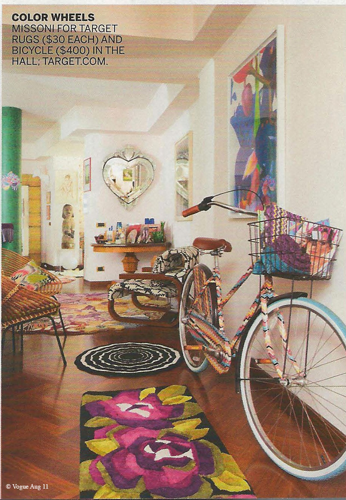missoni target bike copy vogues sneak peek: missoni for target