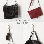 fall sneak peek: leifsdottir does bags