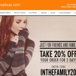 the F&F motherlode: shopbop and saks!