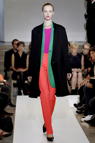 jilsander trend to try: brights + stripes