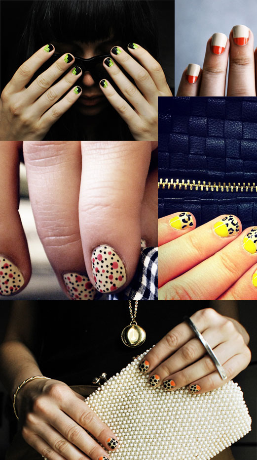 trend to try nails 1 trend to try: the bold manicure