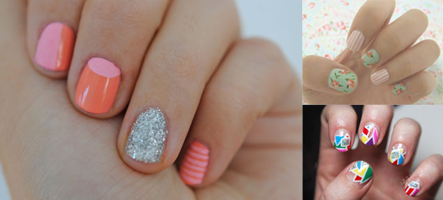 trend to try nails 3 trend to try: the bold manicure