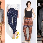 trend to try: printed pants