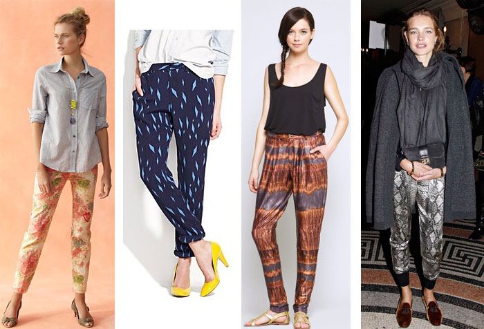 printed pants 1 trend to try: printed pants