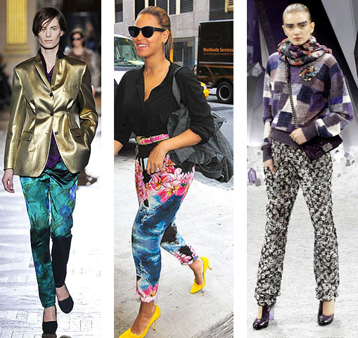 printed pants 3 trend to try: printed pants