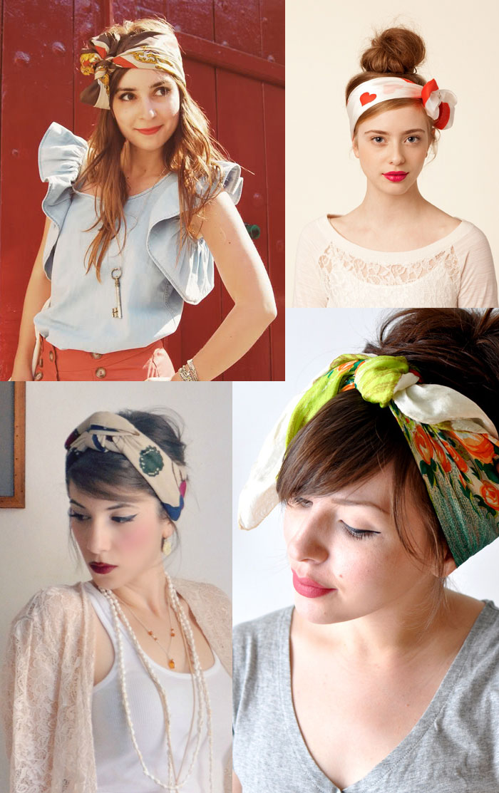 trends head scarves 1 trend to try: the head scarf