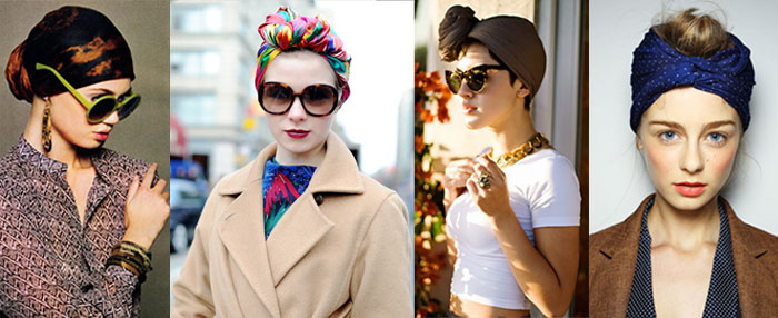 trends head scarves 2 trend to try: the head scarf
