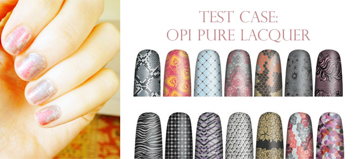 OPI pure lacquer test case: opi pure lacquer nails