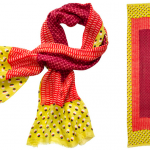 all in the details: tory burch tribal scarf