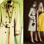off the rack: burberry trench