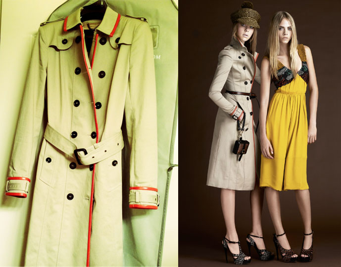 burberry off the rack: burberry trench