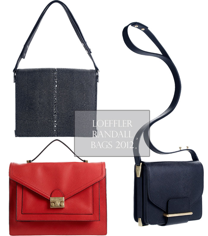 LR bags fall 2012 sneak peek: loeffler randall fall 12