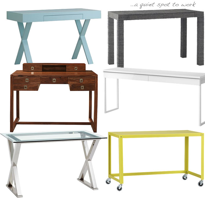 desks compulsive design: decorative desks