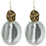 all in the details: alexis bittar wafer earrings