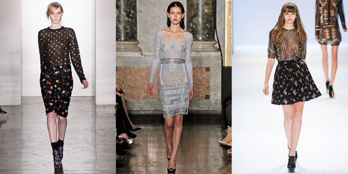 sheer runway trend to try: embellished sheer