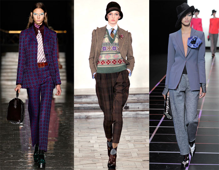 runway inspiration trend to try: modern menswear