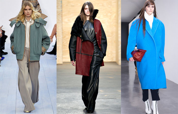 runway inspiration trend to try: oversized outerwear