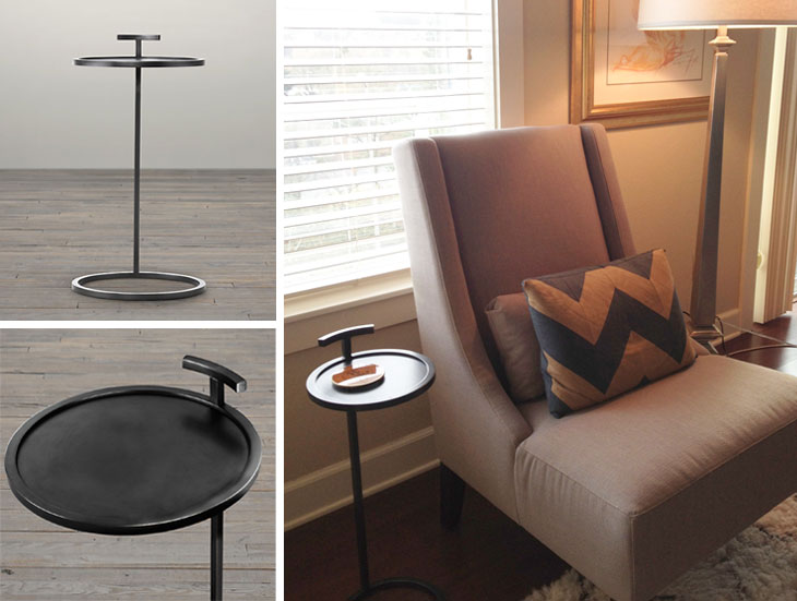 Martini Side Table make over my house: the perfect side table - shopping's my cardio