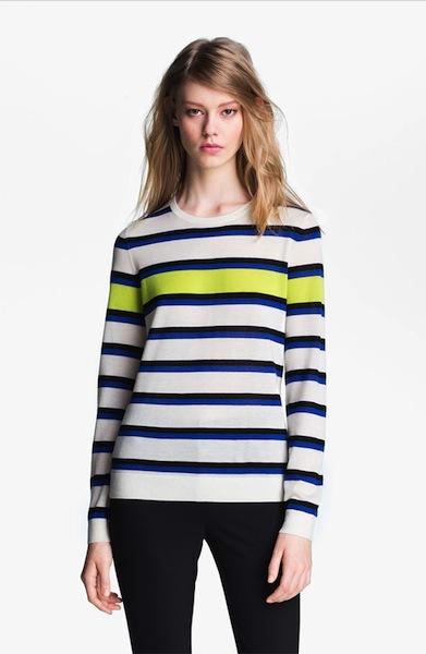 stripe cashmere