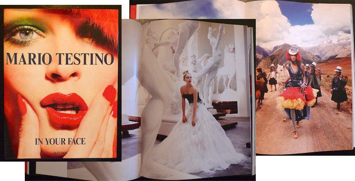 in your face mario testino: in your face and on your coffee table