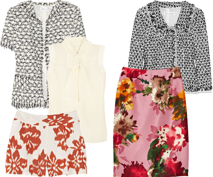 odlr 2 worthy splurge: oscar de la renta at the outnet
