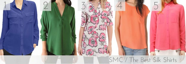 The Best Silk Shirts, via Shopping's My Cardio