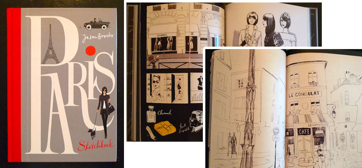 paris sketchbook must reads: march