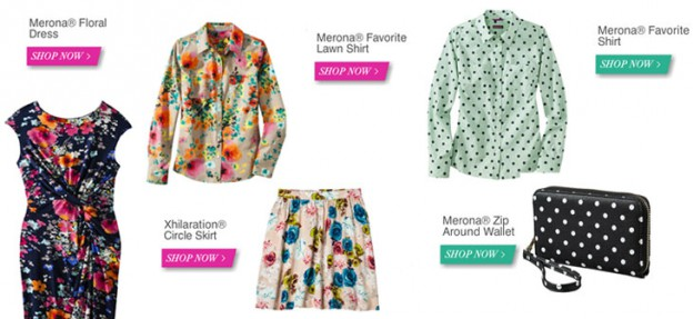 Spring Style at Target, via Shopping's My Cardio