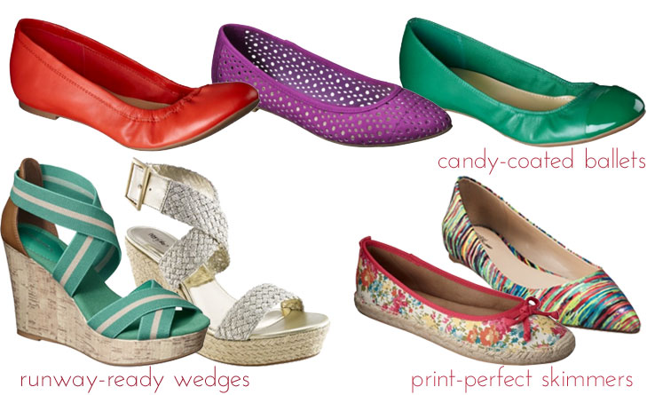 target shoes all sponsored: putting spring in my step with target style