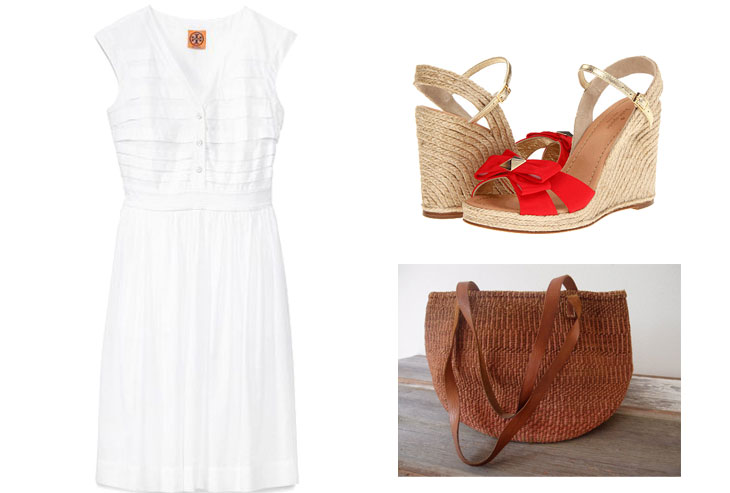 tory burch four perfect spring dresses (and how to style them)