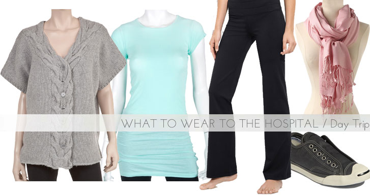 What to Wear to the Hospital, via Shopping's My Cardio