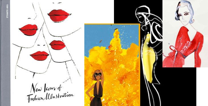 New Icons of Fashion Illustration, via Shopping's My Cardio