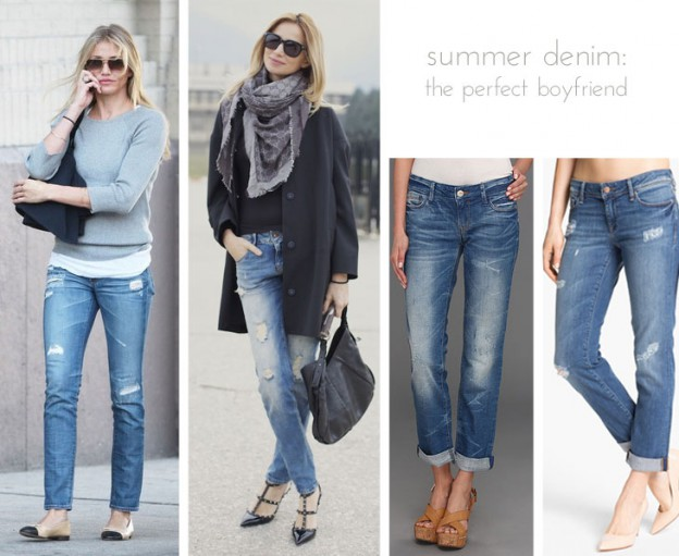 Summer denim, via shopping's my cardio