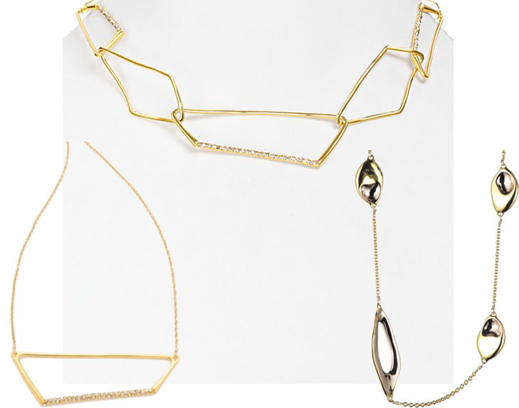 ab necklaces currently coveting: alexis bittar necklaces