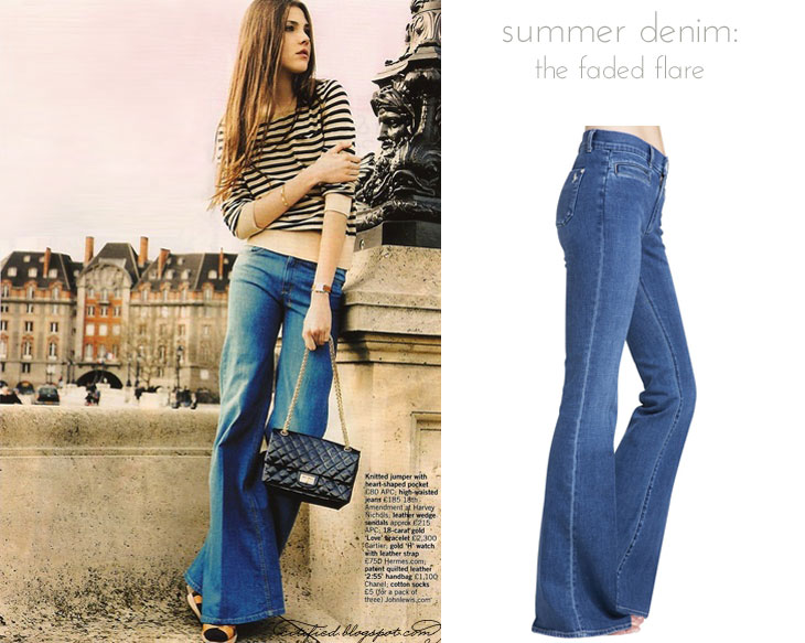 flare the best summer denim (for grown ups)