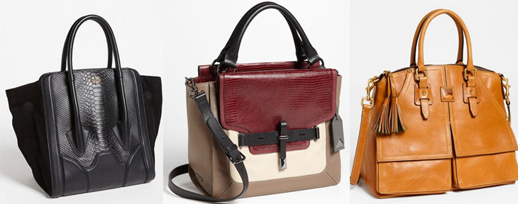 SALE HANDBAGS Limited quantities. Wear-now handbags, now on sale — including women's totes, satchels, clutches and cross-body bags.