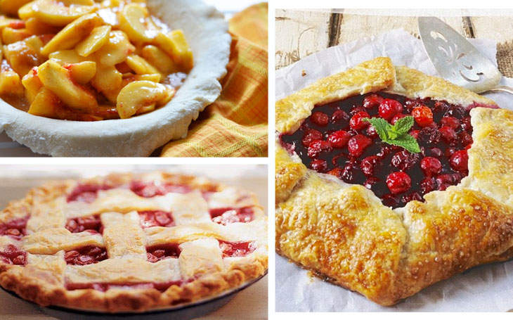 Summer pies, via shopping's my cardio