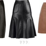 asked and answered: what to wear with leather?